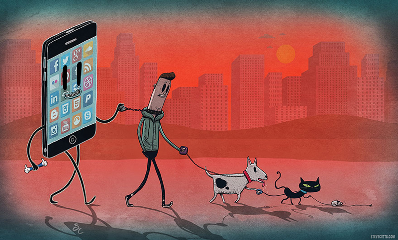 Steve Cutts Illustrations Will Make You Think About The World We