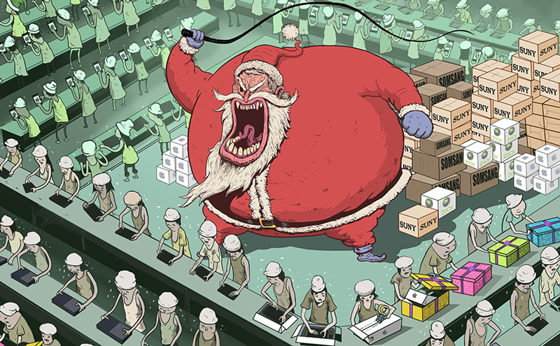 Steve Cutts' illustrations will make you think about the world we live in