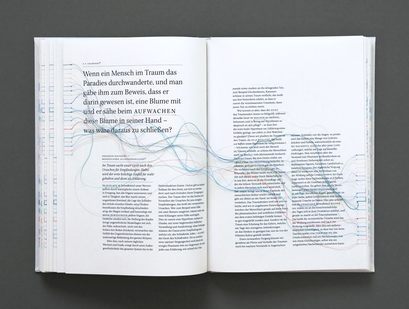 A book with hyperlinks by Maria Fischer