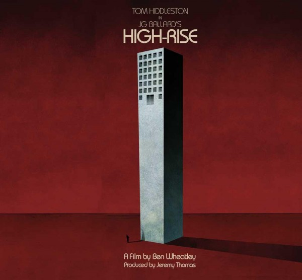 Promotional posters for the upcoming high-rise movie