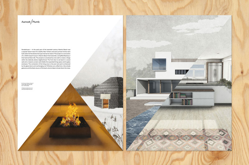 Aamodt/Plumb architecture's branding by TwoPoints.Net