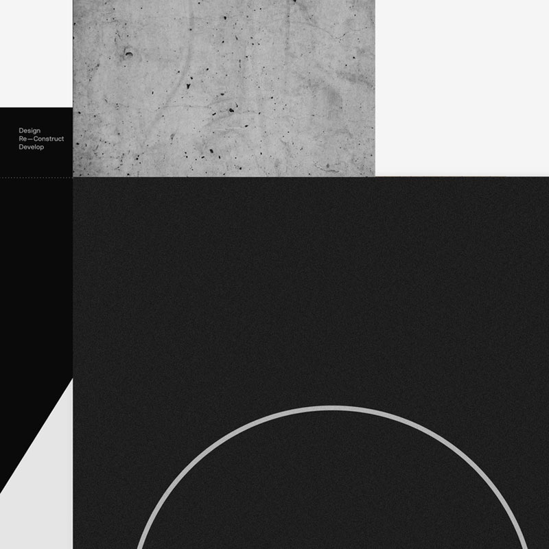 Visual identity by Dimitris Papazoglou for USP architects