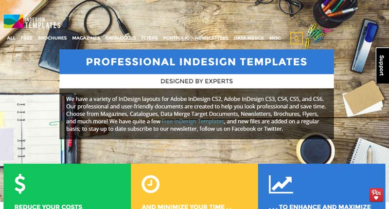 Best inDesign templates, your website for quality print templates