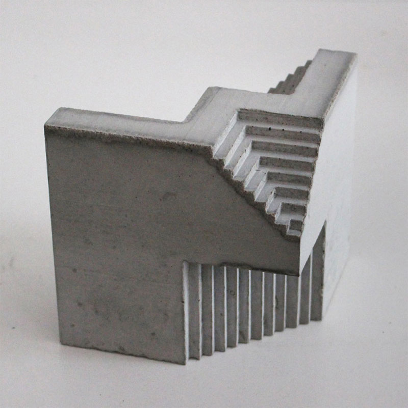 Concrete Architectural Sculptures by David Umemoto