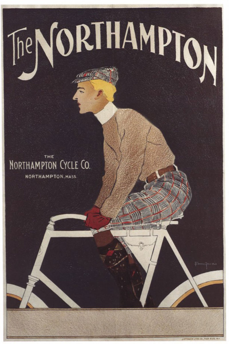 A Collection Of Vintage Bike Ads