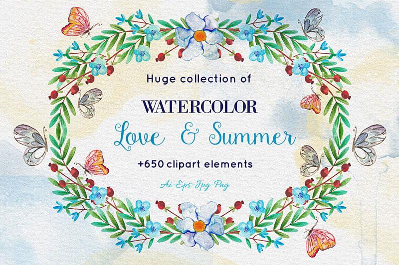 watercolor-love