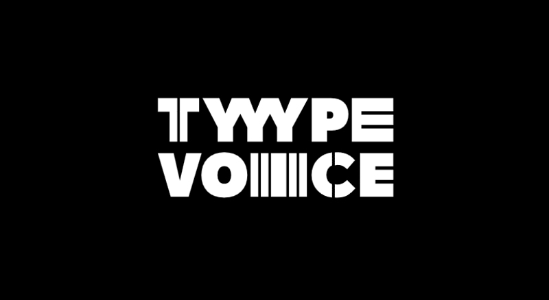 TypeVoice: a font that can be customized with your voice