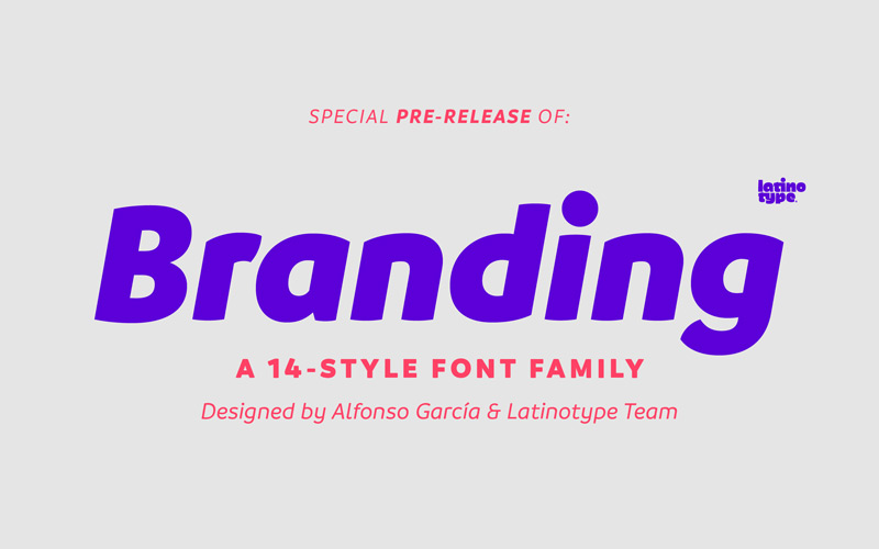 LatinoType releases a font made for branding