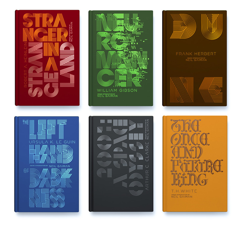 Penguin Galaxy covers by Alex Trochut