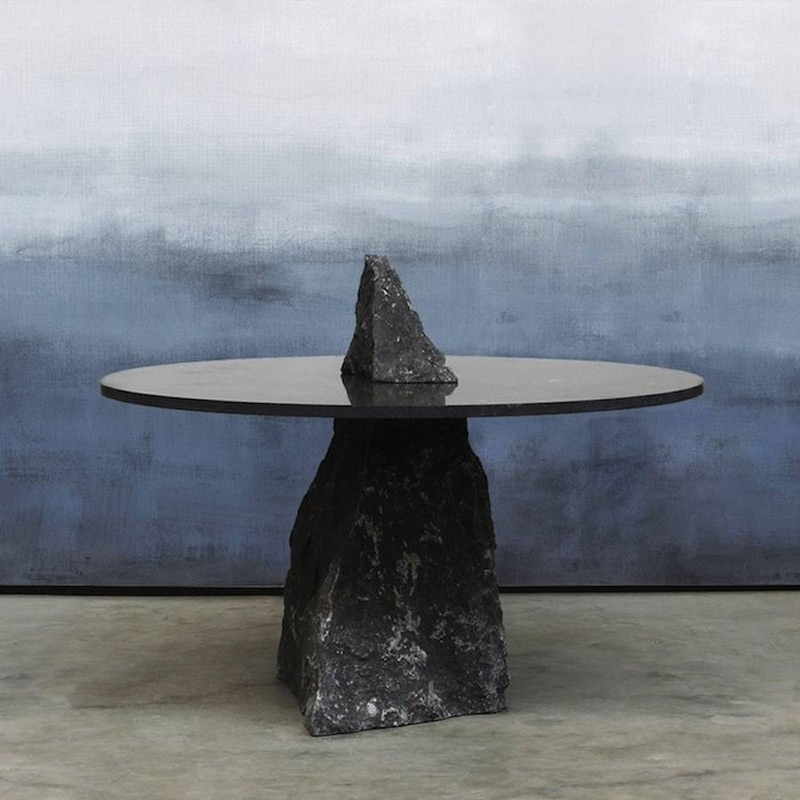 A collection of stone tables by Lex Pott