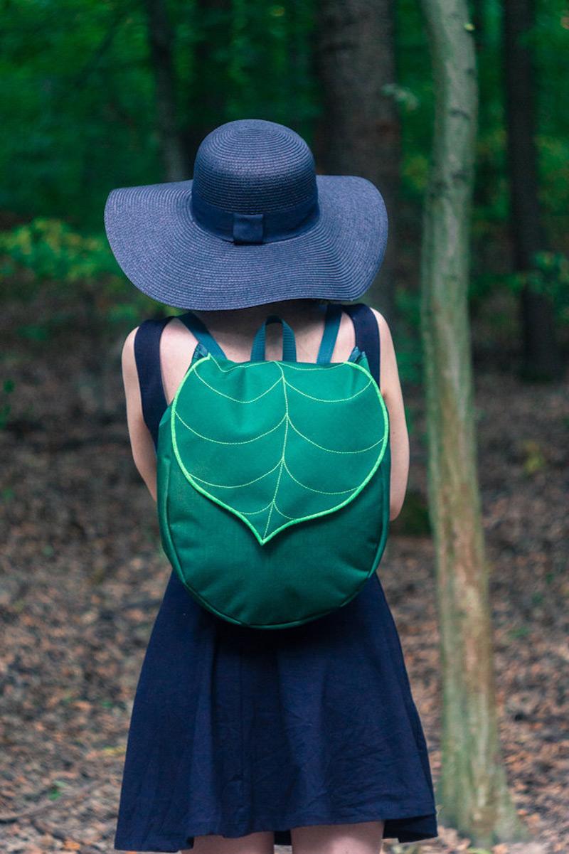 The leaf bags