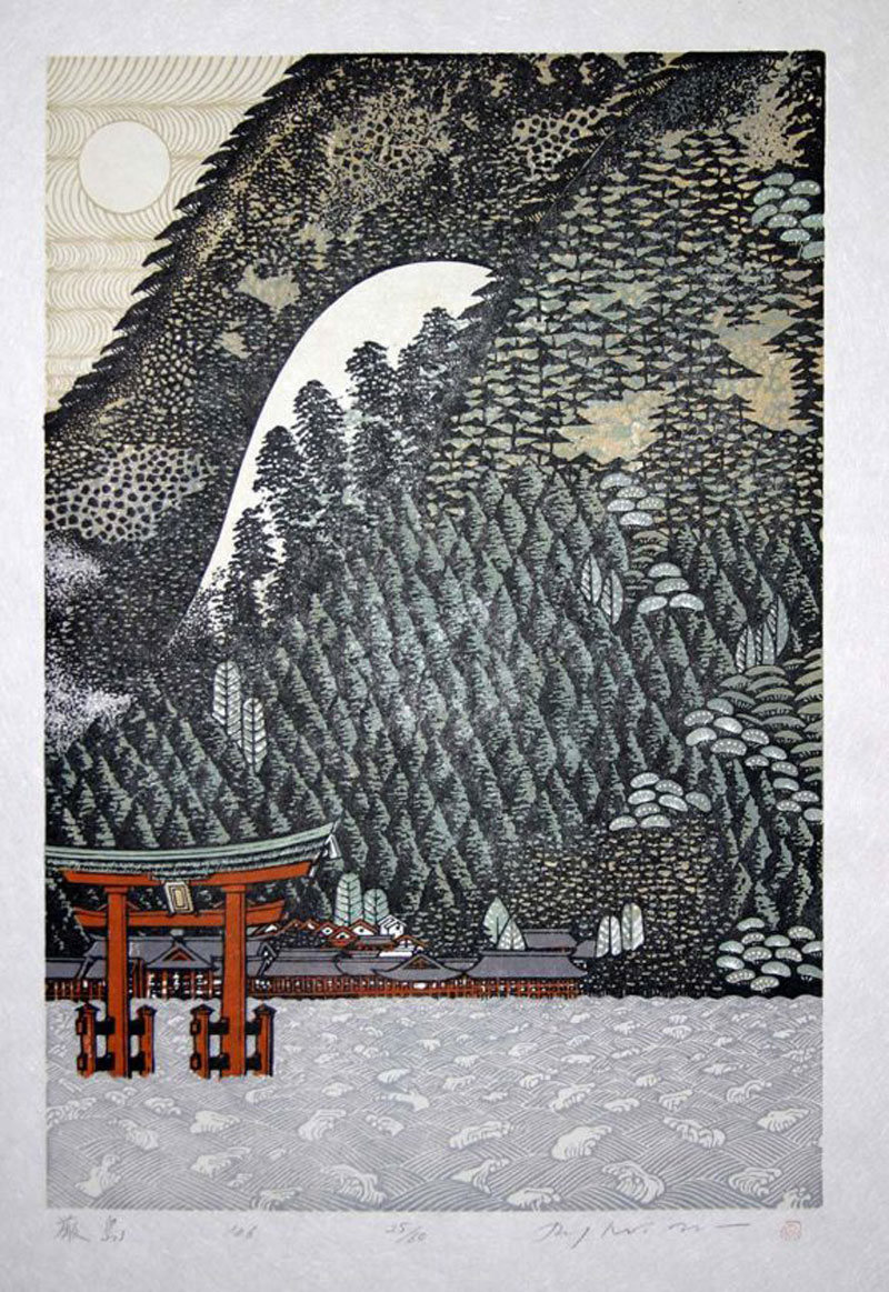 The wood engravings of Ray Morimura
