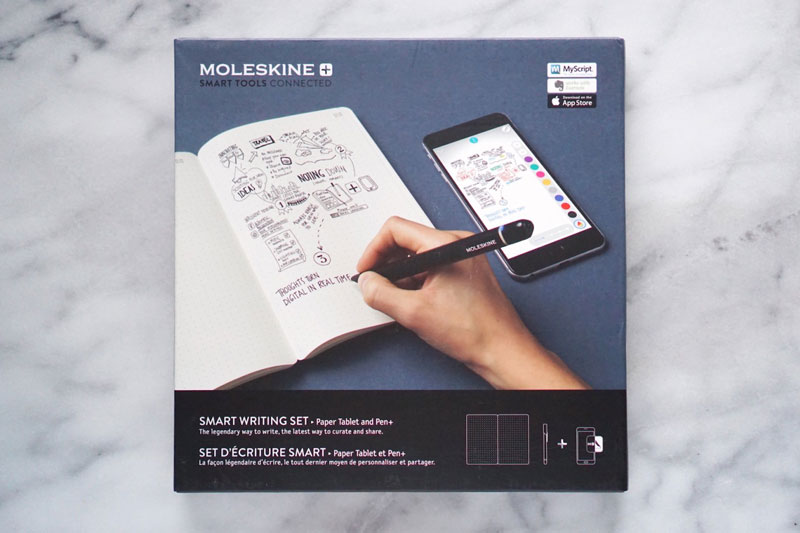 Moleskine releases a writing set that digitizes as you write