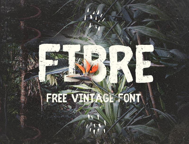 fibre-vintage-font