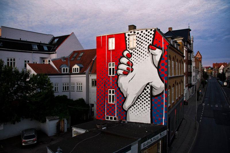 Street art by Chifumi Krohom