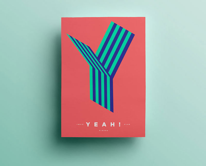 Poster designs by quim marin for Minimalist design inspiration