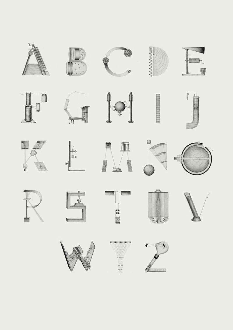 The inventions alphabet by Kyati Trehan