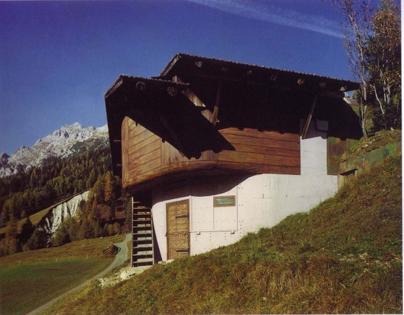 The fake chalets of Switzerland