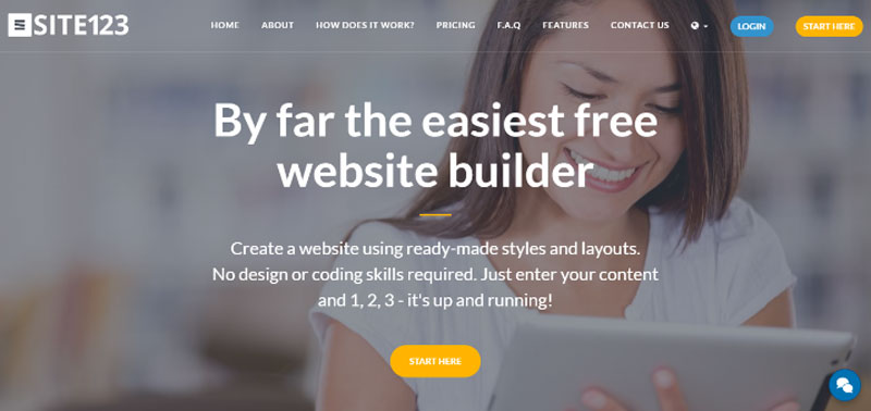 Can you create a small business website in 5 minutes? No way? Yes way!