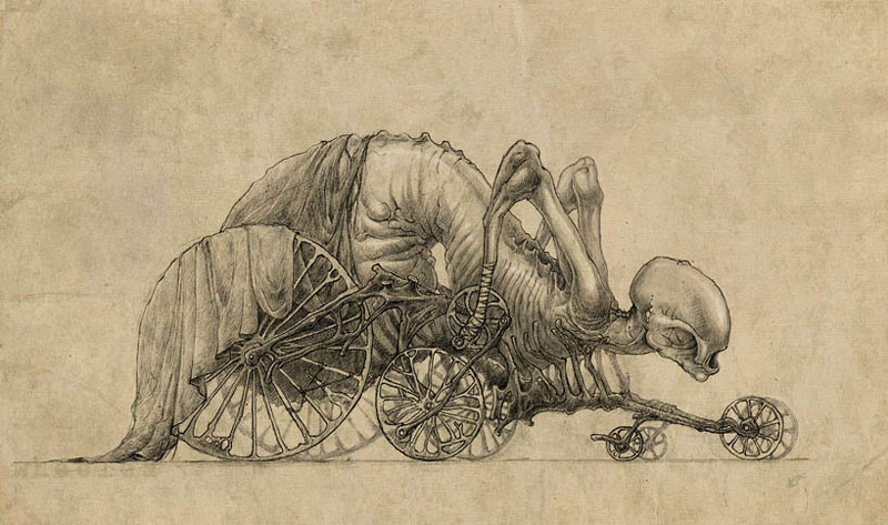 The creepy art of Kirill Semeonov