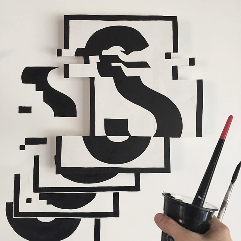 2d-letters-bent-4