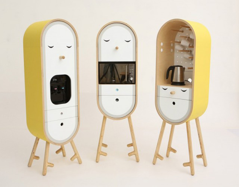 Lo-Lo: the cutest capsular microkitchen
