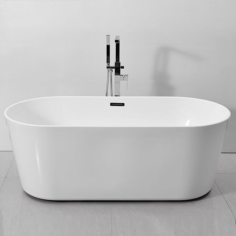 Add a touch of class to your bathroom with a freestanding bathtub