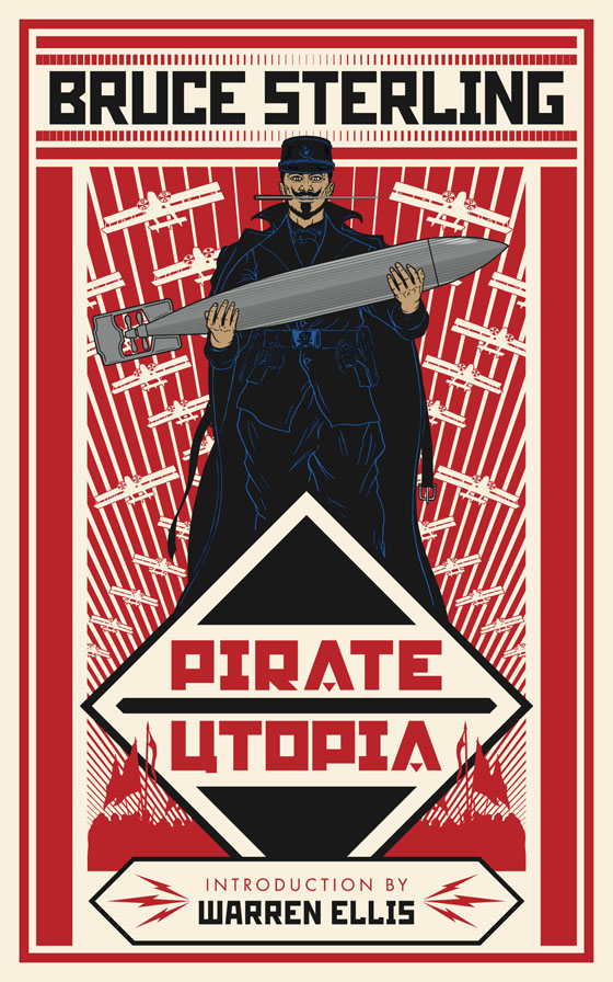 Pirate Utopia: book design and illustration by John Coulthart
