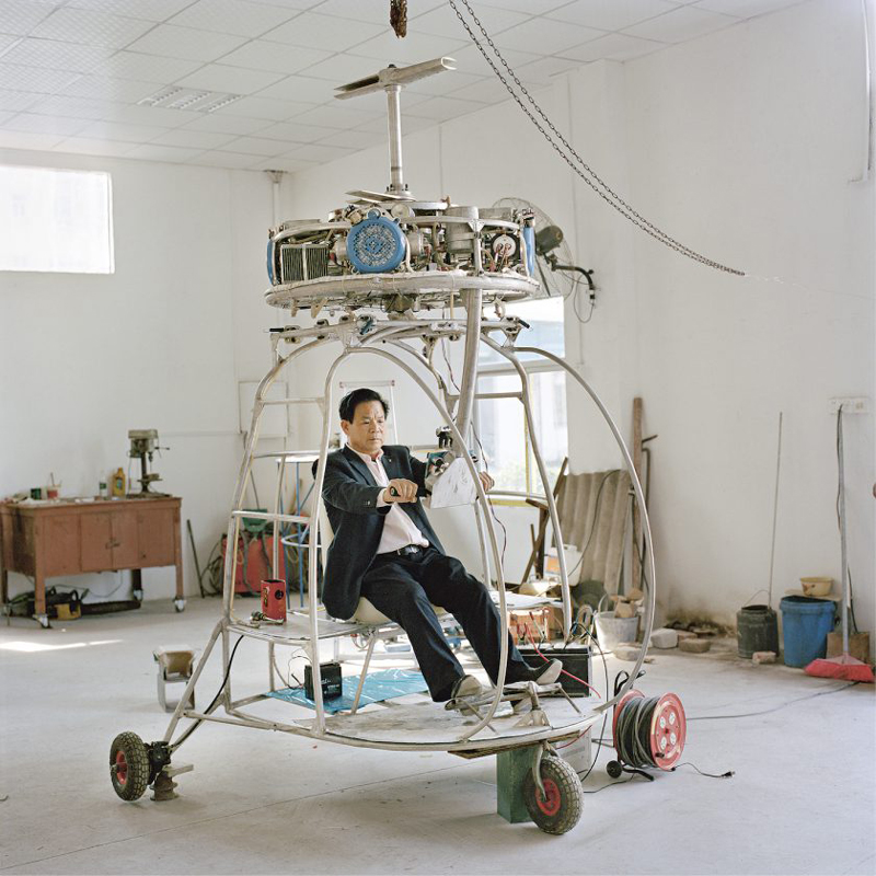The flying dreams of Chinese farmers