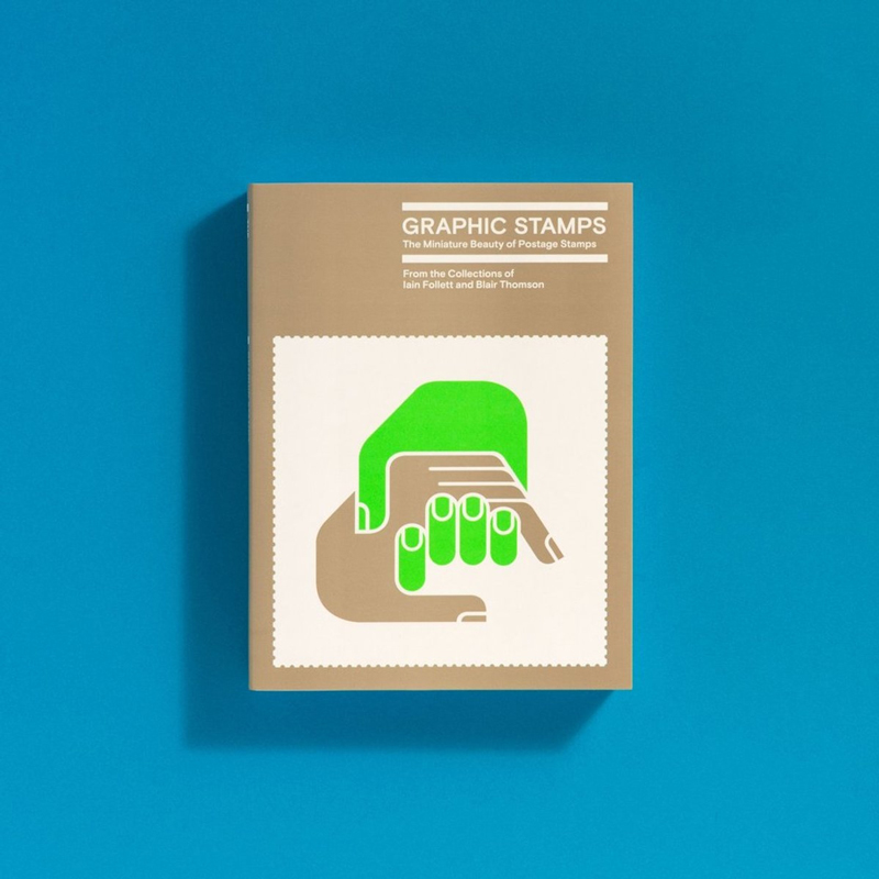 Graphic Stamps: a book about the graphic design of postage stamps