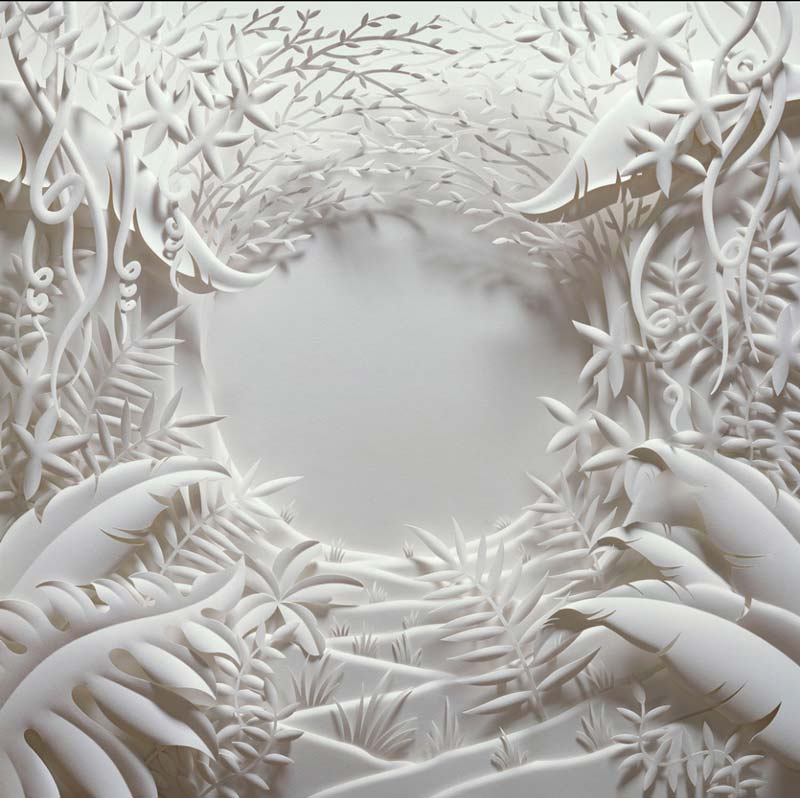 Incredible paper sculptures by Jeff Nishinaka