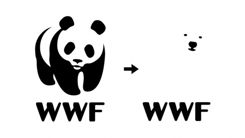 A proposal to change the WWF logo to a polar bear