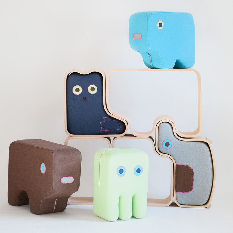 Animaze: playful kids furniture