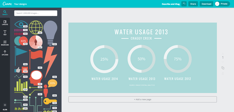 5 useful tool to create infography quicker