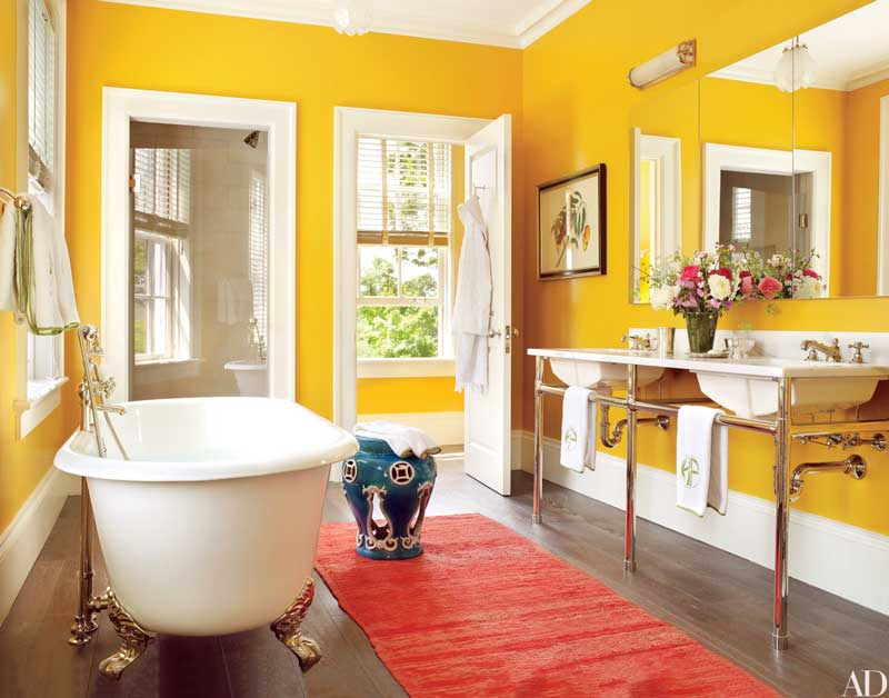 10 ideas for better interior design in the bathroom