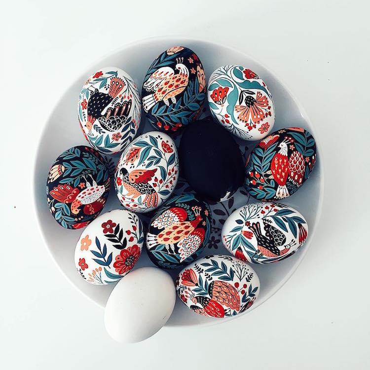 The Wonderful Illustrated Easter Eggs Of Dinara Mirtalipova
