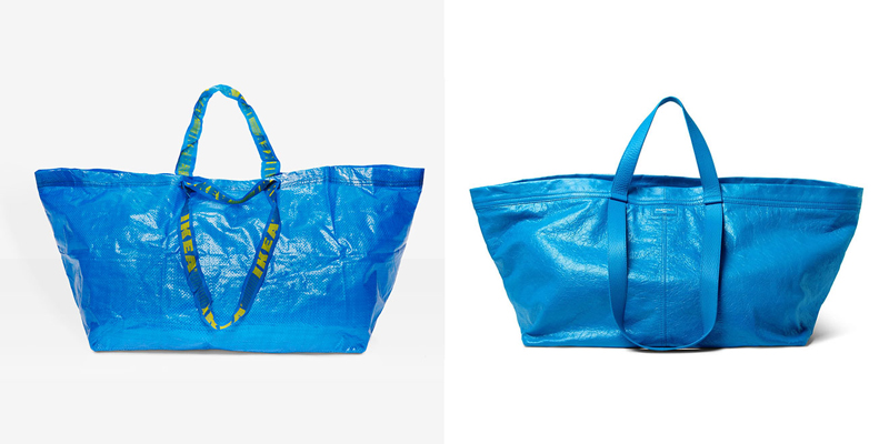 When luxury brands steal common designs