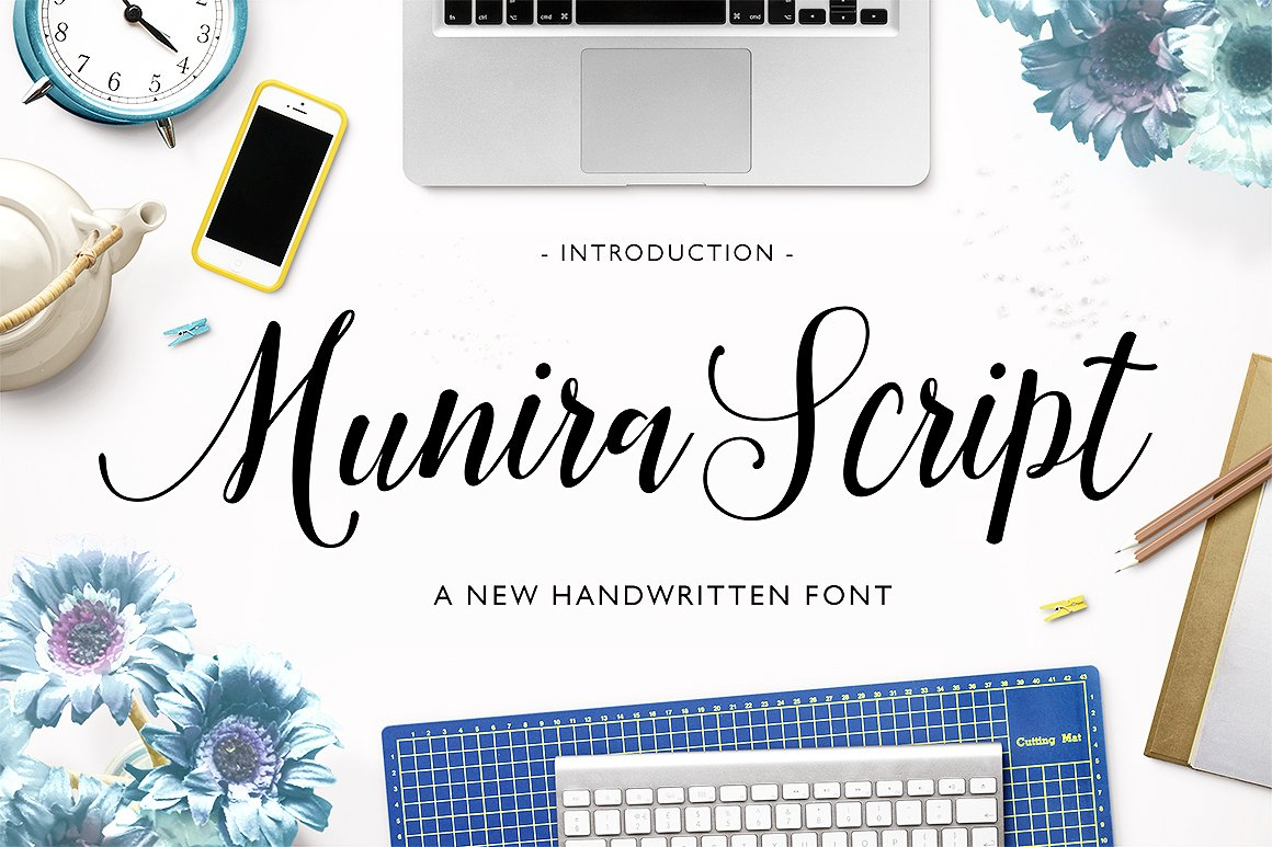 The May Bundle: Over 70 Fonts for just $29