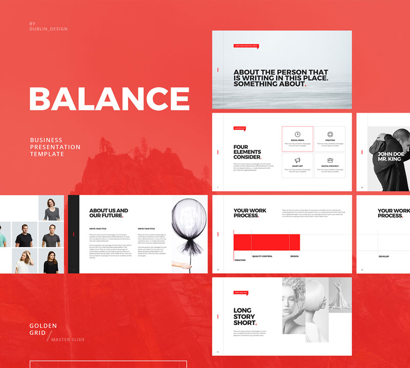 minimalist powerpoint template free - 8 design freebies you should download right now
