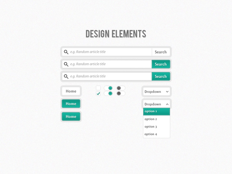 10 gorgeous UI kits for designers and developpers