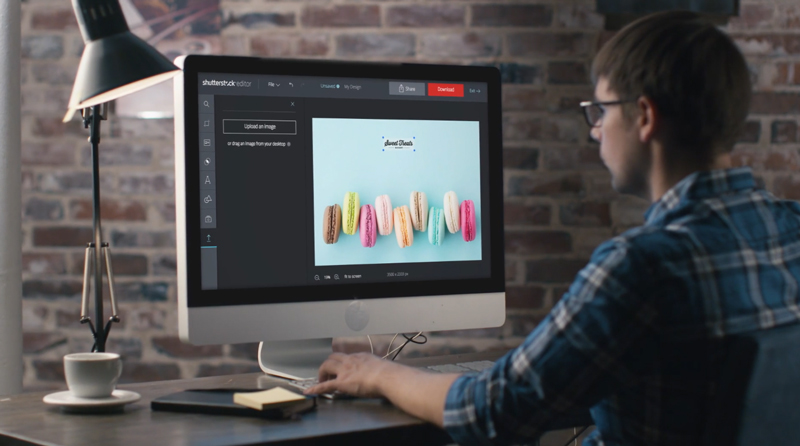 Shutterstock editor: designing has never been so easy