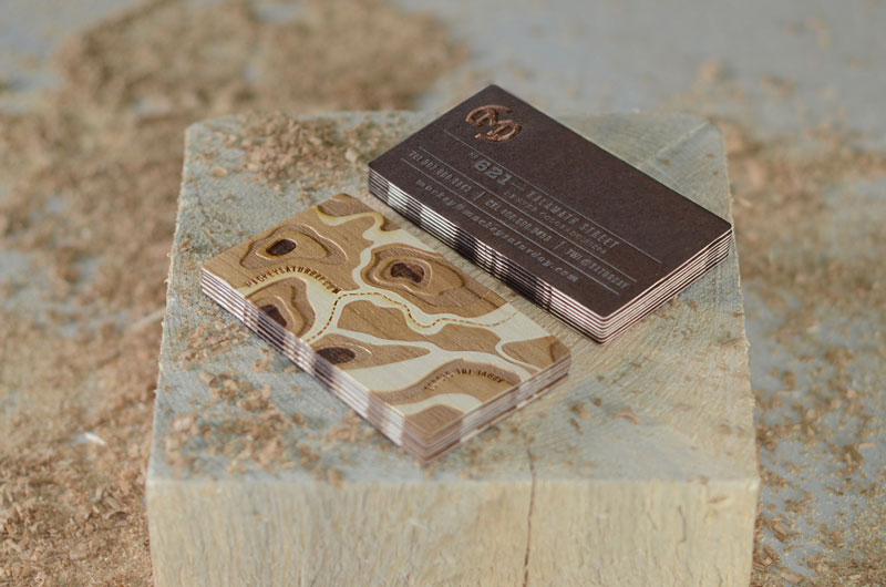 10 gorgeous business cards for your inspiration wooden business cards colourmoves