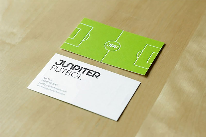 10 gorgeous business cards for your inspiration 8 bag tag a cool business card reheart Images