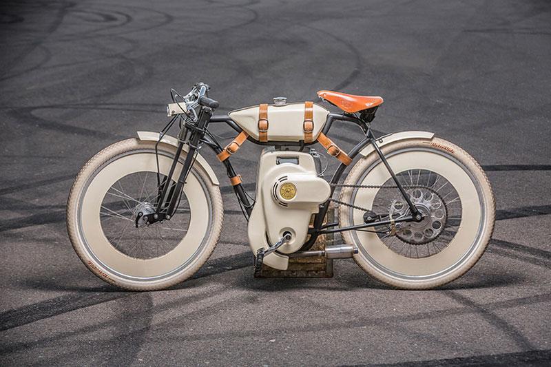 A neo-retro motorbike concept by Local Motors