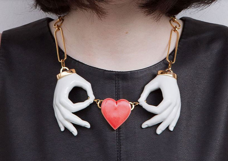 Jewelry inspired by Alice in Wonderland