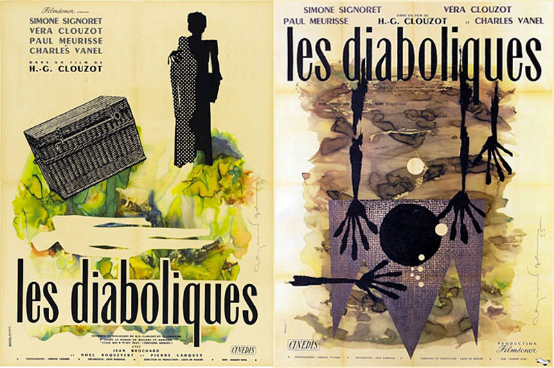 Vintage movie and fashion posters by Raymond Gid