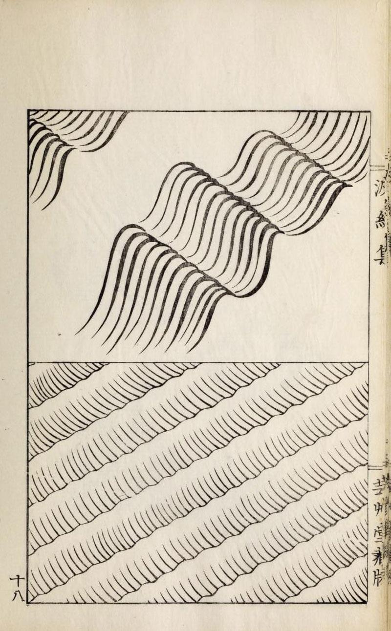 Ha Bun Shu A Book Dedicated To Waves Design