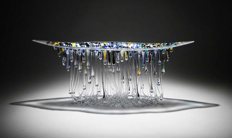 Daniela Forti Creates Incredible Glass Jellyfish Sculptures