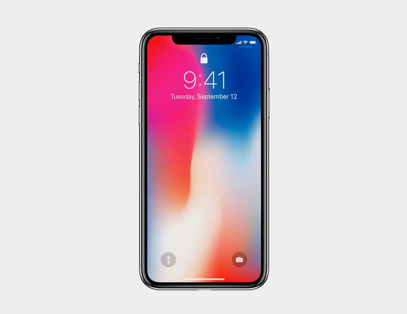 Freebie: PSD mockup of the iPhone X