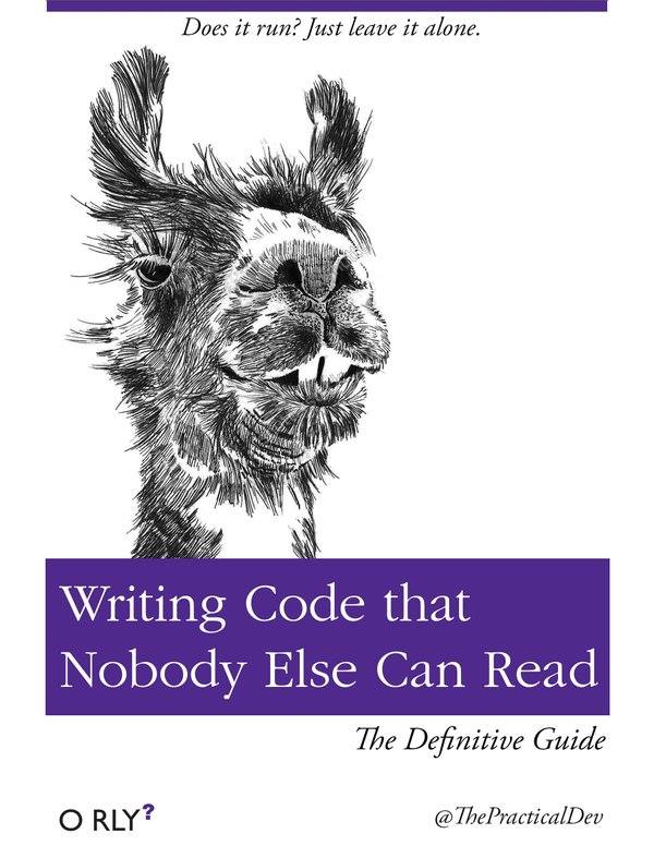Writing Code that nobody else can read